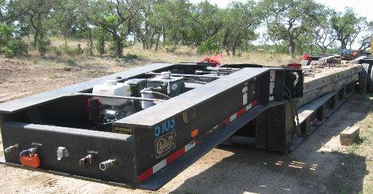 LOWBOY TRAILER HYDRAULIC POWER PACK