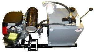 23 HP HONDA GASOLINE HYDRAULIC POWER UNIT